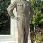 Bayeux, monument General Dwight David Eisenhower