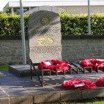Bayeux, stèle Nottinghamshire Yeomanry Sherwood Rangers