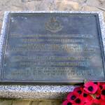 Bayeux, stèle Military Police Corps
