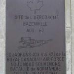 Bazenville, monument aérodrome B2