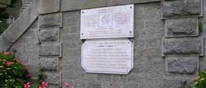 Berjou, monument lettrine