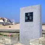 Bernières-sur-Mer, stèle Fort Garry Horse