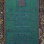 Bernières-sur-Mer, plaque Queen's Own Rifles
