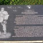 Brévands, monument 506th PIR et 326th AEB