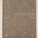Bréville-les-Monts, stèle 6th British Airborne Division