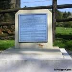 Bréville-les-Monts, stèle bataille de Bois des Monts