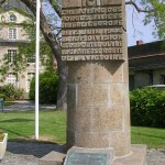 Carentan, monument commémoratif de la Libération
