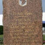 Carentan, stèle 502nd PIR