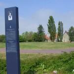 Carentan, totem Normandie Mémoire Espace Historique
