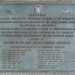Carentan, plaque 101st US Airborne Division