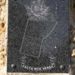 Carpiquet, plaque Fort Garry Horse