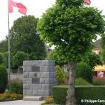Carpiquet, monument The North Shore New Brunswick Regiment
