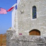 Amfreville Cauquigny, plaque Colonel Pierce et plaque 507th PIR