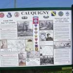 Amfreville Cauquigny, panneau 82nd US Airborne Division