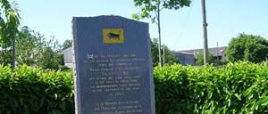 Chênedollé, monument lettrine