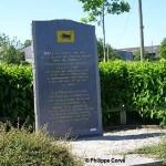 Chênedollé, stèle 11st British Armoured Division