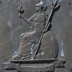 Chênedollé, stèle Corporal Sidney Bates