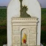 Cintheaux, stèle du 60e anniversaire