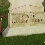 Cintheaux, stèle Gérard Doré