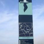 Cintheaux, totem de l'Espace Historique de la bataille de Normandie