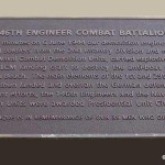Colleville-sur-Mer, plaque 146th Engineer Combat Battalion