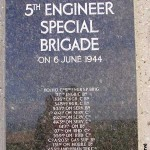 Colleville-sur-Mer, monument 5th Engineer Special Brigade