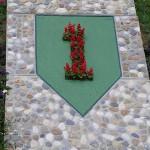 Colleville-sur-Mer, stèle 1st US Infantry Division