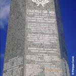 Colleville-sur-Mer, obélisque 1st US Infantry Division