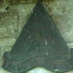 Colleville-sur-Mer, plaque 2nd US Armored Division