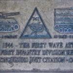 Colleville-sur-Mer, monument 2nd US Armored Division et 741st Tank Batallion