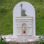 Colleville-sur-Mer, stèle 60e anniversaire