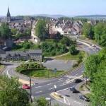 Thury-Harcourt, vue sur la ville