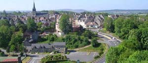 Thury-Harcourt, ville lettrine