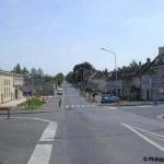 Tilly-sur-Seulles, le carrefour principal