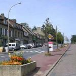 Tilly-sur-Seulles, la route de Bayeux