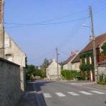 Tournai-sur-Dives, la rue principale