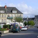 Trévières, le centre ville