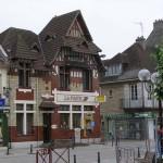 Troarn, le centre ville