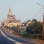Troarn, l'entrée de la ville