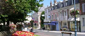 Villers-sur-Mer, ville lettrine