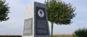 Evrecy, monument lettrine