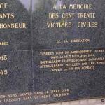 Evrecy, monument victimes civiles