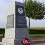 Evrecy, Monument Royal Welsh Fusiliers