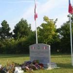 Damblainville, monument Royal Canadian Air Force