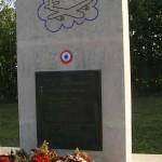Damblainville, stèle aviateurs groupe Lorraine