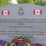 Damblainville, monument aviateurs canadiens