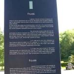 Falaise, totem de l'Espace Historique