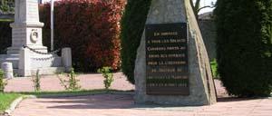 Fontenay-le-Marmion, monument lettrine