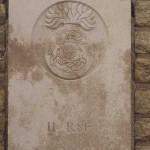 Fontenay-le-Pesnel, plaque 11th Battalion Royal Scots Fusiliers