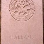 Fontenay-le-Pesnel, plaque Hallamshire Battalion